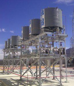 reactores inrush